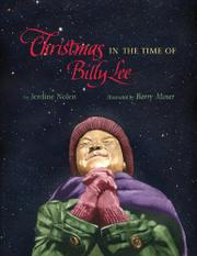 Book Cover for CHRISTMAS IN THE TIME OF BILLY LEE