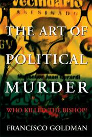 Cover art for THE ART OF POLITICAL MURDER