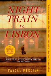 Book Cover for NIGHT TRAIN TO LISBON