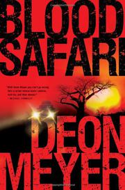 Cover art for BLOOD SAFARI