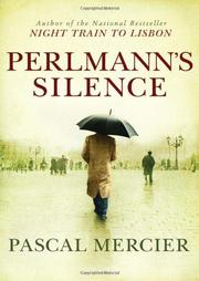 Book Cover for PERLMANN'S SILENCE