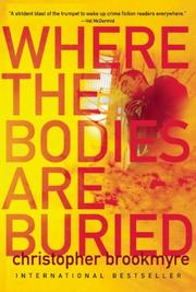 Book Cover for WHERE THE BODIES ARE BURIED