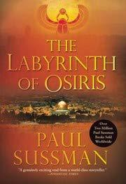 Book Cover for THE LABYRINTH OF OSIRIS