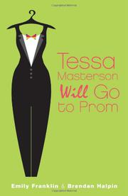 Book Cover for TESSA MASTERSON WILL GO TO PROM