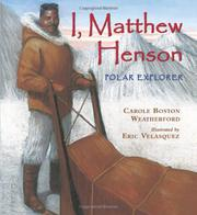 Cover art for I, MATTHEW HENSON