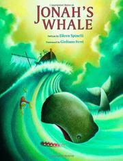 Cover art for JONAH'S WHALE