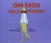 Cover art for JOHN JENSEN FEELS DIFFERENT