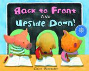 Book Cover for BACK TO FRONT AND UPSIDE DOWN