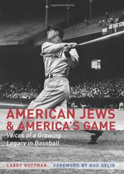 Book Cover for AMERICAN JEWS AND AMERICA'S GAME