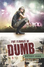 Cover art for FIVE FLAVORS OF DUMB