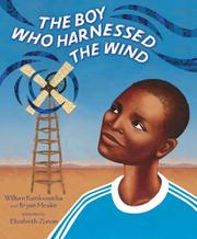 Cover art for THE BOY WHO HARNESSED THE WIND