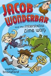 Book Cover for JACOB WONDERBAR AND THE INTERSTELLAR TIME WARP