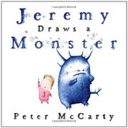 Book Cover for JEREMY DRAWS A MONSTER