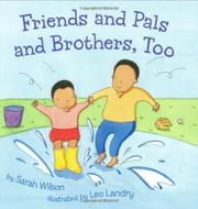 Cover art for FRIENDS AND PALS AND BROTHERS, TOO