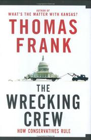 Book Cover for THE WRECKING CREW