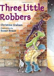 Book Cover for THREE LITTLE ROBBERS