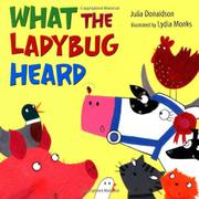 Book Cover for WHAT THE LADYBUG HEARD