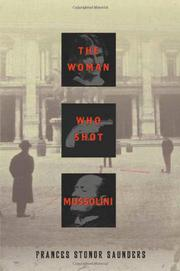 Cover art for THE WOMAN WHO SHOT MUSSOLINI