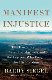 Cover art for MANIFEST INJUSTICE