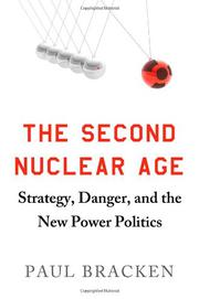 Cover art for THE SECOND NUCLEAR AGE