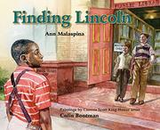 Cover art for FINDING LINCOLN