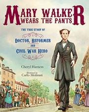 Book Cover for MARY WALKER WEARS THE PANTS