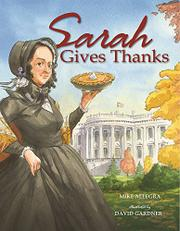Book Cover for SARAH GIVES THANKS