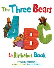 Cover art for THE THREE BEARS ABC