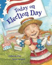 Book Cover for TODAY ON ELECTION DAY