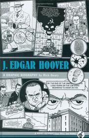 Cover art for J. EDGAR HOOVER