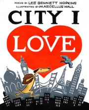 Book Cover for CITY I LOVE