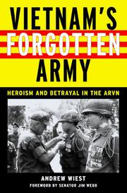 Cover art for VIETNAM'S FORGOTTEN ARMY