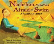 Book Cover for NACHSHON, WHO WAS AFRAID TO SWIM