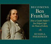 Cover art for BECOMING BEN FRANKLIN