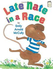 Book Cover for LATE NATE IN A RACE