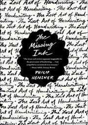 Book Cover for THE MISSING INK