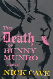 Cover art for THE DEATH OF BUNNY MUNRO