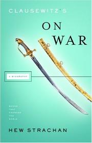 Book Cover for CLAUSEWITZ'S ON WAR