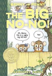 Book Cover for BENNY AND PENNY IN THE BIG NO-NO!