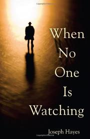 Book Cover for WHEN NO ONE IS WATCHING