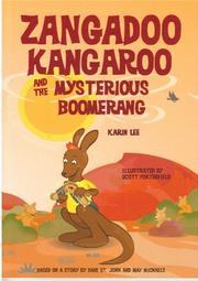 Book Cover for ZANGADOO KANGAROO AND THE MYSTERIOUS BOOMERANG