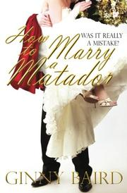 Cover art for HOW TO MARRY A MATADOR
