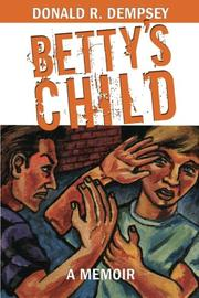 Cover art for BETTY'S CHILD