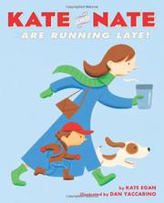 Cover art for KATE AND NATE ARE RUNNING LATE