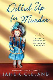 Cover art for DOLLED UP FOR MURDER