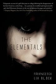 Book Cover for THE ELEMENTALS