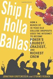 Book Cover for SHIP IT HOLLA BALLAS!