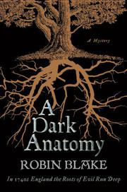 Cover art for A DARK ANATOMY