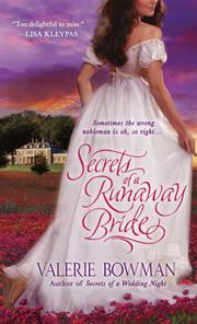 Cover art for SECRETS OF A RUNAWAY BRIDE