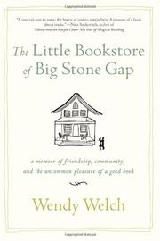 Cover art for THE LITTLE BOOKSTORE OF BIG STONE GAP
